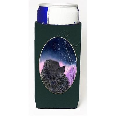 Carolines Treasures SS8076MUK Pomeranian Michelob Ultra s For Slim Cans 12 oz.