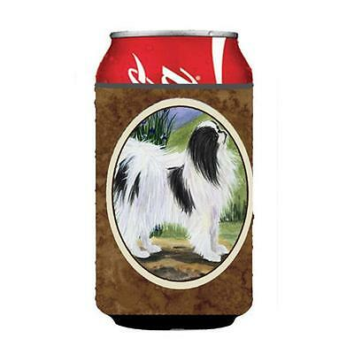Carolines Treasures SS8028CC Japanese Chin Can Or Bottle Hugger 12 oz.