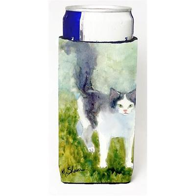 Carolines Treasures MM6040MUK Cat Michelob Ultra bottle sleeve for Slim Can