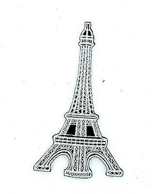 Patch patches embroidered iron on backpack eiffel tower paris france souvenir