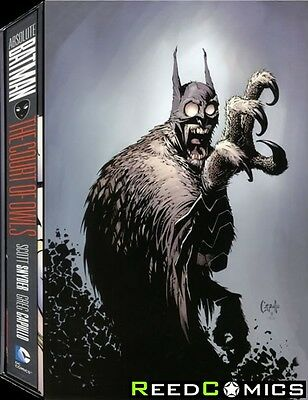 ABSOLUTE BATMAN THE COURT OF OWLS SLIPCASE HARDCOVER New Hardback Collects #1-11