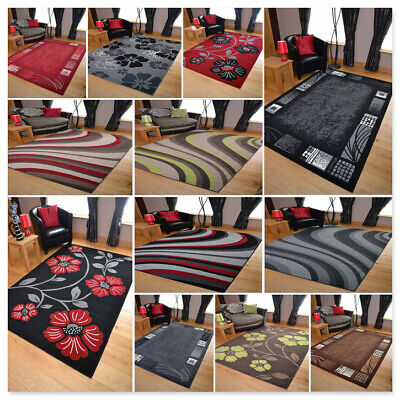 Modern Multi Rugs Hallway Runners Small Extra Large Bright Soft Cheap Big Mat