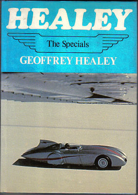 Healey The Specials Nash 100S Record Breaking SR XR37 Sebring Signed copy