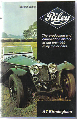 Riley Production & Competition History pre-1939 10.8 11-40 9 & 12hp 14/6 12/4 +