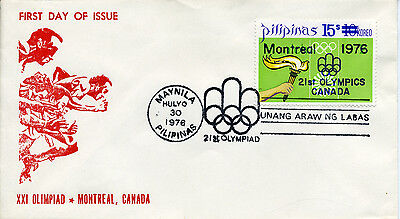 Philippinen FDC Olympiade 1976