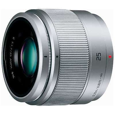 Panasonic LUMIX G 25mm f/1.7 Asph. Silver