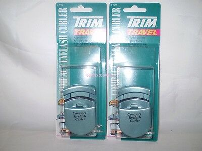 Compact Eyelash Curler Fits easily in Purse Trim X 2