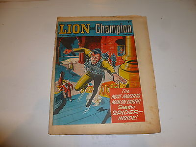 LION & CHAMPION Comic (1967) - Date 02/12/1967 - UK Paper Comic
