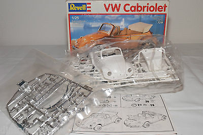 Revell Kit 07219 7219 Vw Volkswagen Beetle Kafer Cabriolet Near Mint Boxed