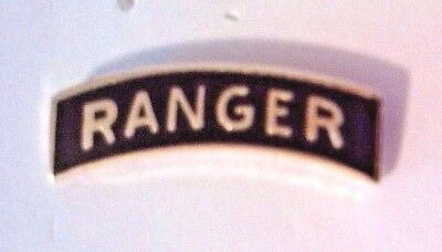 Ranger Tab Hat Pin / Lapel Pin  3/4""