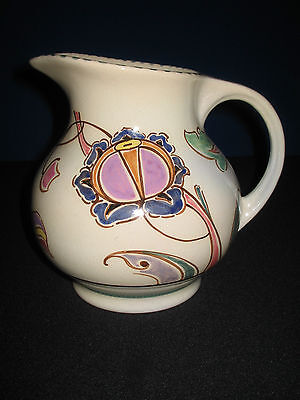 Lovely Hand Painted Mid 20th Honiton Pottery Jug