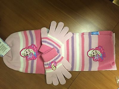 Frozen Minions Descendants Gorro Guantes Bufanda Original Regalo