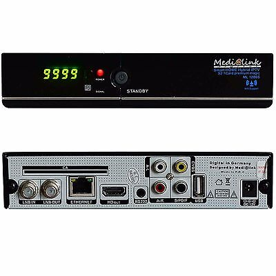 ORF Karte mit Medi@link Smart Home ML1200 IPTV CI Full HD Sat Receiver 3D