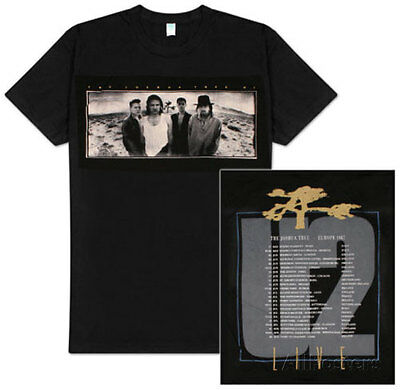 Official U2 - The Joshua Tree 1987 - Men's Black T-Shirt US IMPORT