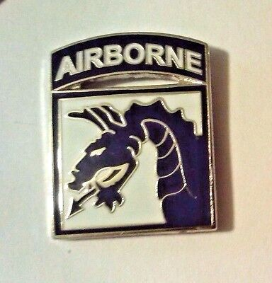 """18th Airborne Corps Hat Pin 7/8"""""""