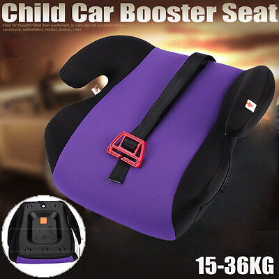 Safe Sturdy Portable Child Kid Baby Car Booster Seat 3 to 12 Years 15-36kg AU
