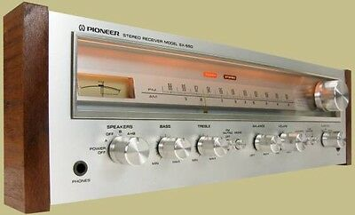 PIONEER SX 550 Monster Stereo Receiver 40 Watts RMS Vintage 1976 Refurbished