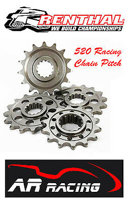 Renthal 15 T Front Sprocket 455U-520-15 to fit Yamaha YZF R6 2006-2016 520 Pitch