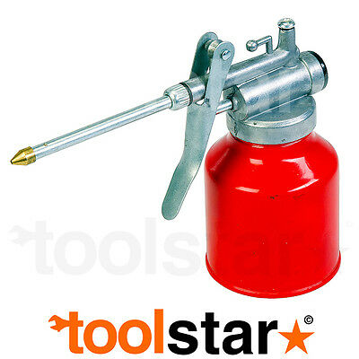 OIL CAN 250cc TRIGGER ACTION - HANDY FOR ALL CAR MOTORBIKE & HOME DIY OILING