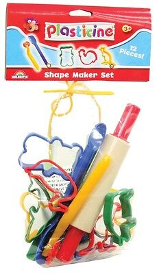 NEW Plasticine Cutters - Super Maker Set from Mr Toys Toyworld