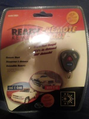 Brand new still in package Ready Remote Car Starter.  Model# 24921
