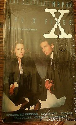 X-Files Official Map: Sealed