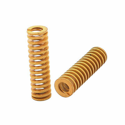 55mm x 16mm Stamping Compression Mold Mould Die Spring Coil Yellow 2Pcs
