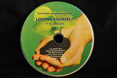 LOVING YOURSELF / STAYING MOTIVATED + 4 eBooks on Disc PDF format