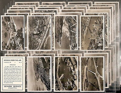 Pattreiouex-Large Card Set- Britain From The Air - Exc