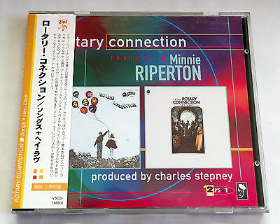 ROTARY CONNECTION Songs + Hey Love JAPAN EDITION 2in1 CD w/OBI 1999 VSCD-1465