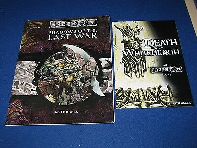 Shadows of the last war  & DEATH AT WHITEHEARTH KEITH BAKER