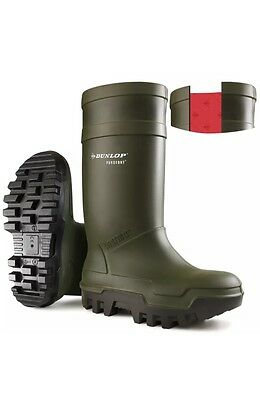 Dunlop Purofort Thermo Safety Wellies Welly Wellington Boots Insulated sizes6-13