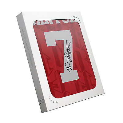 Eric Cantona Signed Manchester United Shirt  In Gift Box Football Memorabilia