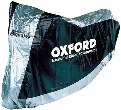 Motorcycle / Scooter Bike Cover Oxford Aquatex Size L Silver High Quality!!! New