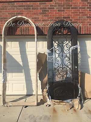 Single Wrought Iron Door