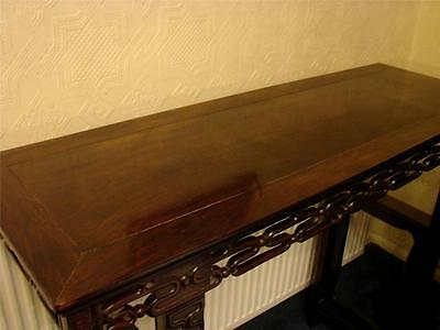 "Chinese Hardwood Altar Table 49.6"" Long"