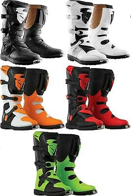 Thor Blitz Offroad Motocross Riding MX Boots Youth All Sizes All Colors