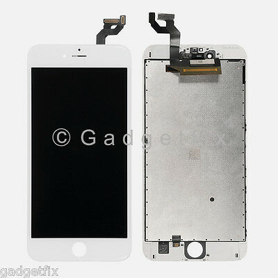 USA White LCD Screen Display + Touch Screen Digitizer + Frame for iphone 6S Plus