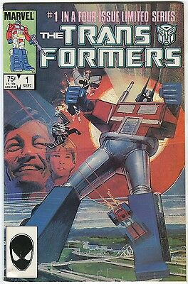 """The Transformers #1 - """"The Autobots From Cybertron!"""" - (9.2)WH"""