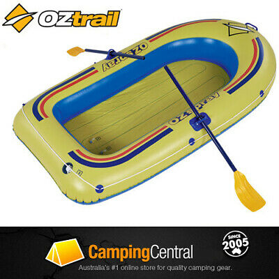 Oztrail Ozspray 3 Person Inflatable Boat (Includes Oars) Blow Up
