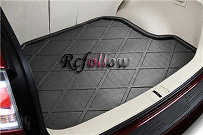 Black Rear Trunk Cargo Mat Boot Liner Tray Fit For Mitsubishi Outlander 2007-12