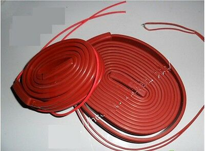 220VAC 500W 25*5000mm Silicon Band  Heater Strip waterproof  NEW