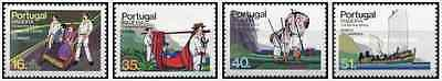 Timbres Transports Madère 98/101 ** (8897)