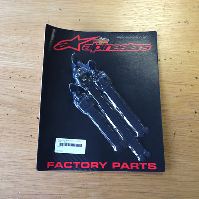 NEW Alpinestars MX Boot Spares - Strap Kit - Tech 1 - Black