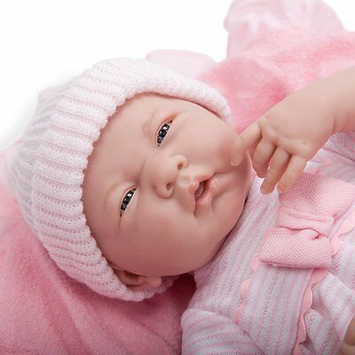 Realistic Baby Doll Girl Berenguer Newborn Real Looking Lifelike Pink Reborn New