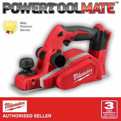 Milwaukee M18BP -0 Cordless Planer 18 Volt Bare Unit