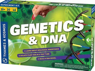 Thames & Kosmos GENETICS and DNA KIT - SCIENCE Biology EXPERIMENT KIT