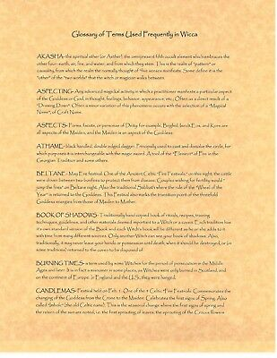FULL MOON CORRESPONDENCES, Book of Shadows Spell Page