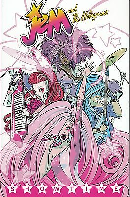 Jem and The Holograms Volume 1 Showtime trade paperback IDW
