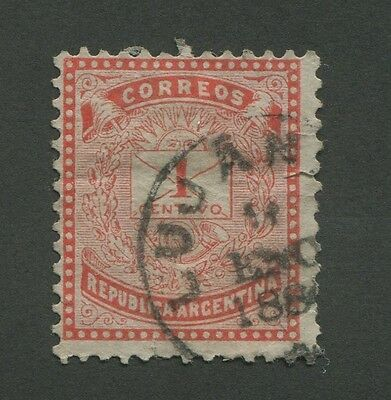 Argentina (1882) #44 Used Son Cancel